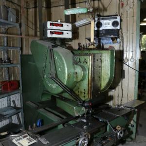 Prasa automat EDEL – Sztancowanie – Duża ilość narzędzi