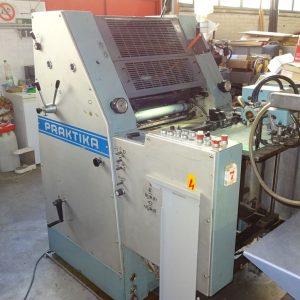 Maszyna Offsetowa ROLAND PRAKTIKA PR00 z numeracją i perforacją