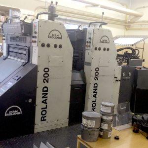 Maszyna offsetowa MAN ROLAND R 202 EOB