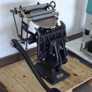 Bostontiegel ASBERN – printing crucible with an inkwell